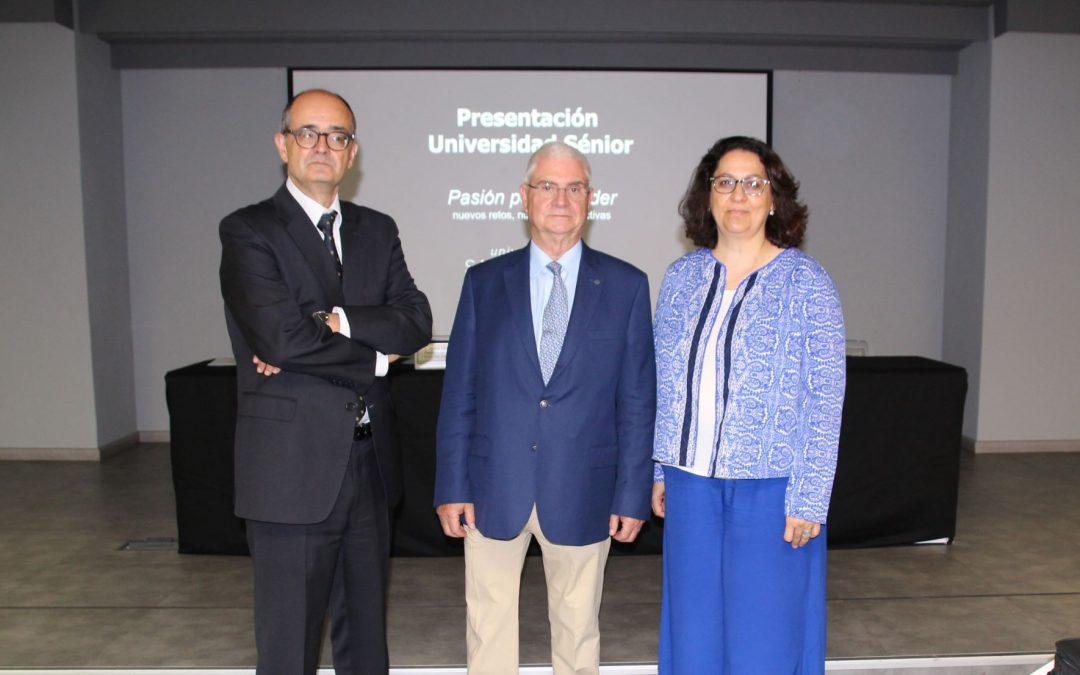 La USJ pone en marcha su Universidad Sénior con un diploma en Cultura y Civilización Contemporáneas